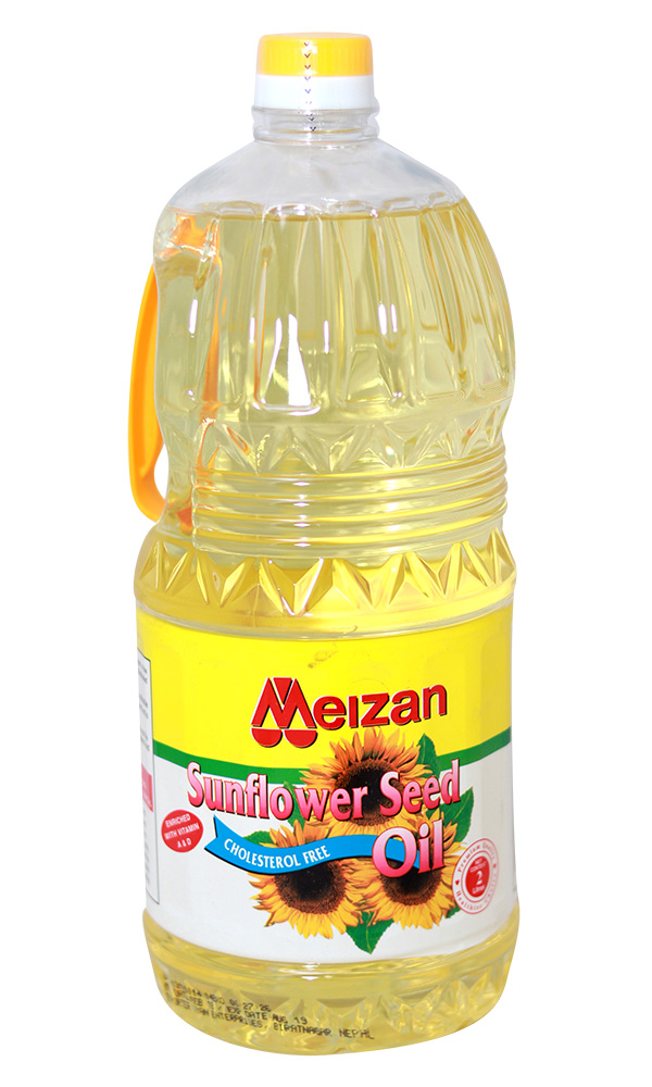 Meizan Sunflower Oil (मिजान सनफ्लावर तेल) (2Ltr x 1pcs)/jar [MRP 570] - KLD