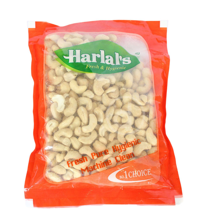 Harlal's Cashew - Kaju (काजु) (80gm x 1pcs)/pkt [MRP 160]
