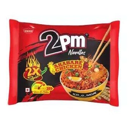 2PM Noodles (Spicy Akabare) - Chicken (2PM नुडल्स स्पाईसी अकबरे) (100gm x 16pcs)/ctn [MRP 50] - Asian Thai Foods