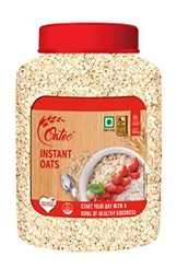 Oateo Instant Oats (ओटीओ इन्स्टेन्ट न्युट्रि ओट्स) (500gm x 1pcs)/Jar [MRP 230] - KLD
