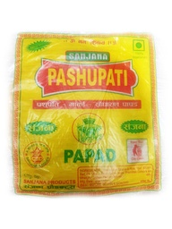 Pashupati Papad (पशुपती पापड) (100gm x 1pkt) [MRP 55] - IS
