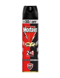 Mortein 2 in 1 - Insect Killer [Cockroaches Mosquitoes] (मोर्टिन इन्सेक्ट किलर) (425ml x 1pcs)/btl [MRP 305]