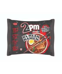 2PM Korean Ramen Noodles - Chicken (2PM कोरियन रामिन नुडल्स) (100gm x 10pcs)/ctn [MRP 50] - Asian Thai Foods