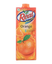 Real Fruit Power Orange Juice (रियल फ्रुट पावर ओरेन्ज जुस) (1Ltr)/jar [MRP 260] - Dabur