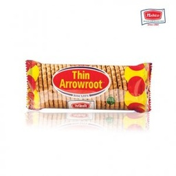 Thin Arrowroot Biscuit (थिन आरारुट बिस्कुट) (40gm x 40pcs)/ctn [MRP 10] - Nebico