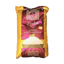 Zeeba Long Grain Rice (जीबा लङ्ग ग्रेन चामल) (20kg x 1pcs)/bora [MRP 2350] - Century PF